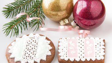 kerstkoekjes, royal icing, bakken, versieren