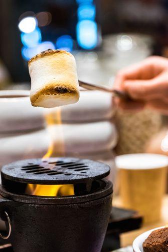 marshmallows roosteren zonder kampvuur