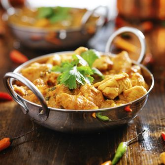 Indiase kip curry Madras
