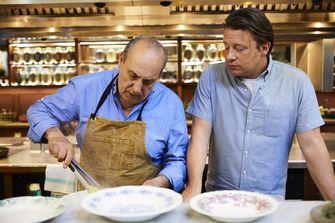 Jamie Oliver en Gennaro Contaldo
