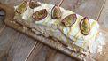 meringue rol voor bij het paasdiner