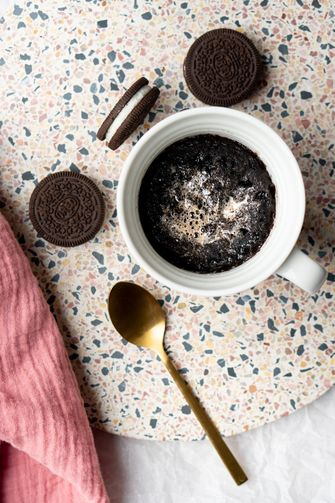 Oreo mug cake