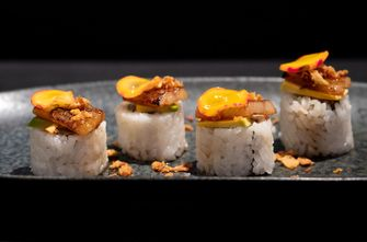 Nikkei cuisine bij LIMALIMA