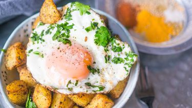 Indiase bombay aardappeltjes