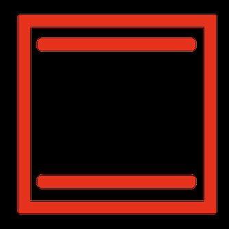 oven symbool voor onder- en bovenwarmte
