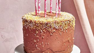 klassieke verjaardagstaart van Claire Schaffitz