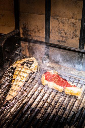 Baskische grill bij Sagardi Amsterdam