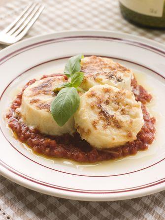 gnocchi alla romana tomatensaus