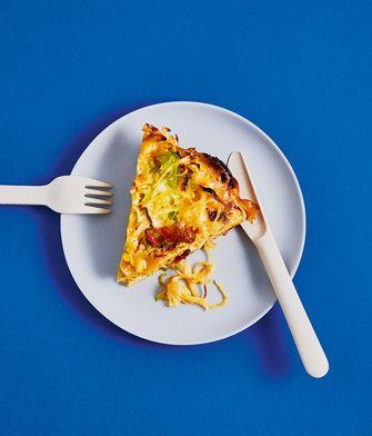 Pasta Frittata uit Eten met Nijntje