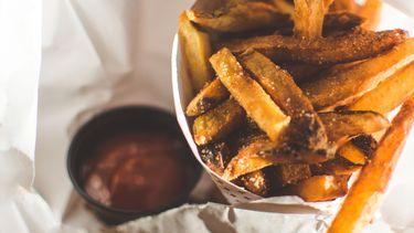 Gefermenteerde frietjes met miso