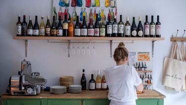 Levain et le vin in Amsterdam