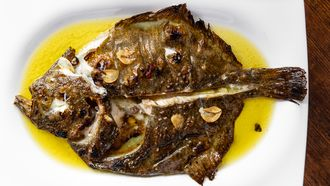 Tarbot (vis) bij Sagardi