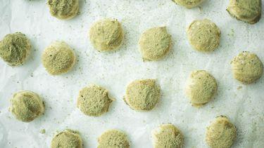 Truffel kruidnoten met matcha