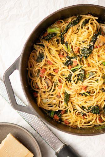 Eenpanspasta / one pot pasta