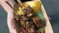 runderhart rundvlees spiesjes Boliviaanse keuken