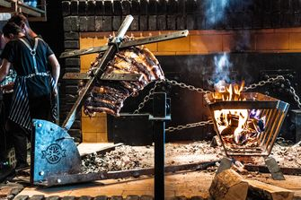De Hell's kitchen van Black Smoke