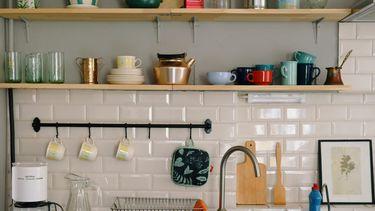 keuken met frisse lentelook
