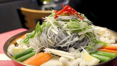 Koreaanse sharing platter