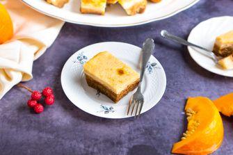 cheesecakerepen met pompoen