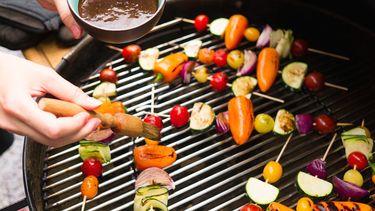 groentespiesjes bbq
