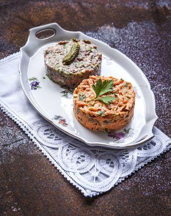 Steak tartare & worteltartaar
