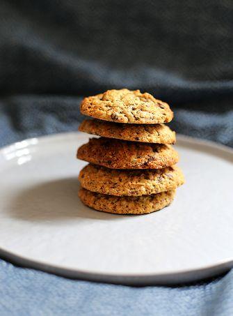 banana chocolate chunk cookies1