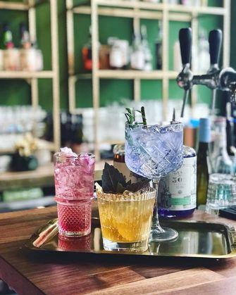 Rose Rouge cocktails