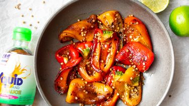Thaise gegrilde paprika's