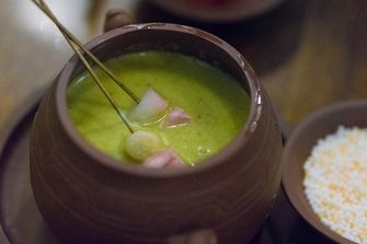 Chinese fondue in het klein