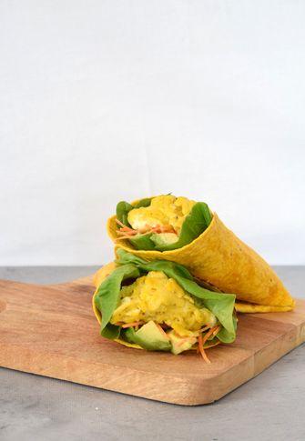 Lunch recept: tortilla met ei en avocado