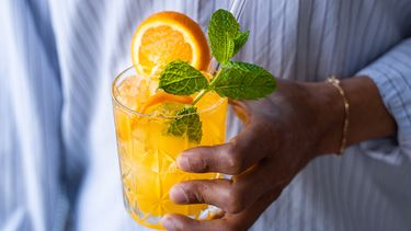 oranje cocktail voor Koningsdag