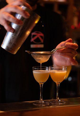 Cocktails bij Kampai
