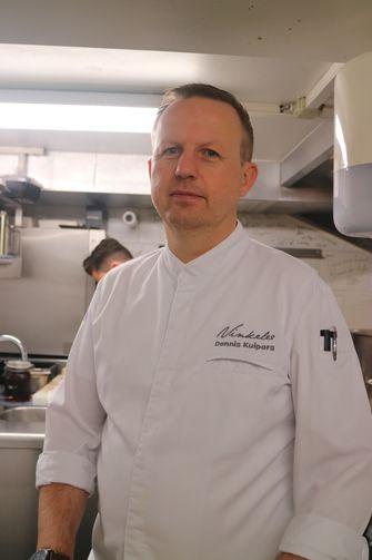 Dennis Kuipers chef van Vinkeles