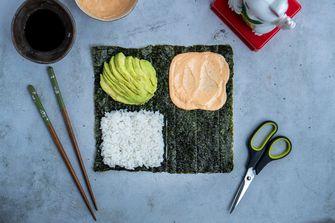 sushi-sandwich tiktok hack