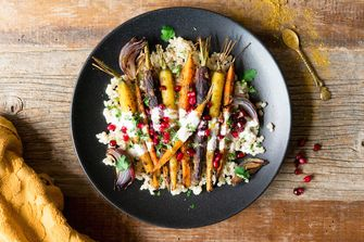 wortels met vadouvan