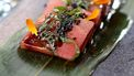 sashimi van watermeloen
