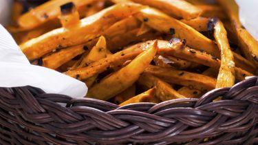 Zoete aardappelfriet