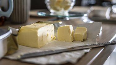 Verpakking van boter