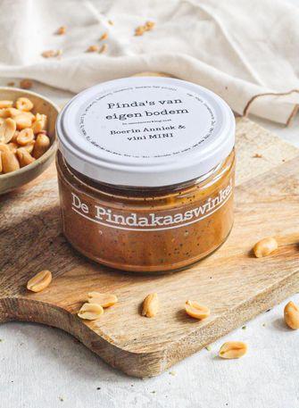 Nederlandse pindakaas van De Pindakaaswinkel