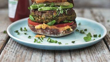 Briljante groenteburger van Jamie Oliver