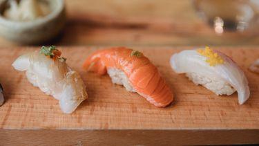Yuzu kosho op sushi