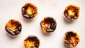 Mini Baskische burnt cheesecakes