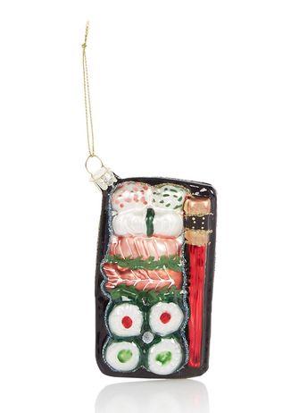 sushi kerstbal