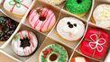 kerst donuts van Dunkin Donuts