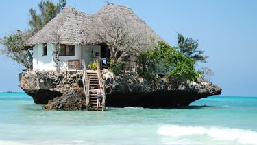 The Rock restaurant in Zanzibar