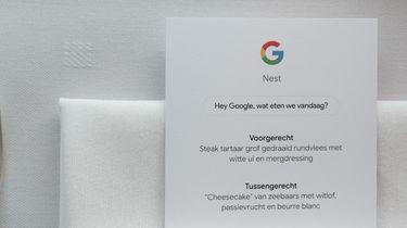Koken met de Google Nest Hub