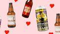 Valentijnsdag bier