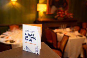 010/020 diner in het James Beard House in New York