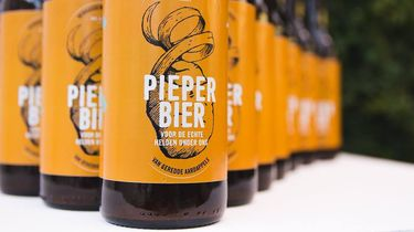 pieper bier / food waste