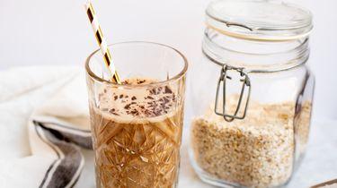 Koffiesmoothie drinkontbijt